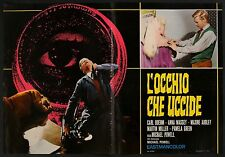 FOTOBUSTA 1, L'OCCHIO CHE UCCIDE Peeping Tom POWELL,BOEHM,THRILLER HORROR POSTER