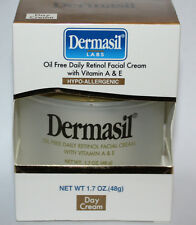 Dermasil Oil Free Daily Retinol Facial Cream With Vitamin A & E  1.7 oz *REDUCED
