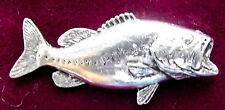 Étain bass fishing Broche Pin qualité
