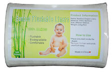 1ROLL ALVA BABY BIODEGRADABLE FLUSHABLE VISCOSE BABY BAMBOO LINER