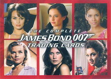JAMES BOND THE COMPLETE 2007 RITTENHOUSE PROMO CARD P1 MO