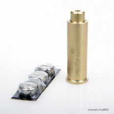 Bore Sighter .38 .357 Rem Cartridge Red Dot Laser Sight Brass Boresighter #15
