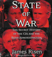 State of War by James Risen ~ 5-Disc CD Abridged Audio Book ~ FREE Shipping USA