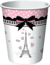 Party in Paris Cups (8) -  Girls Birthday Party Supplies