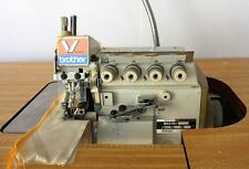 BROTHER MA4-V61 2-Needle 5-Thread Overlock Serger Industrial Sewing Machine 110V