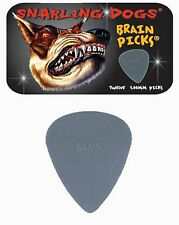 Snarling Dogs Brain Guitar Picks Grey  1.00 mm 12 picks in Tin Box