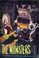 1960s AURORA The Munsters figures model box magnet - new!