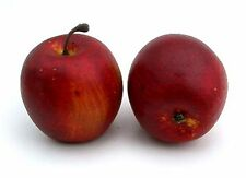 Artificial Red Apple Love Fruit, Assorted, Bag of 24 Decorative Fake Fruit