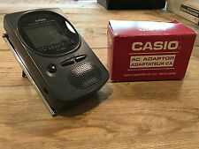 CASIO LCD Pocket color television TV and AC adaptor