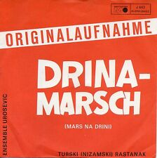 7 45  Ensemble Urosevic ‎– Drina Marsch RARE GER Folk/ Country