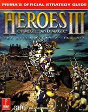 Heroes of Might and Magic III : Prima's Official Strategy Guide by Edward Chapma