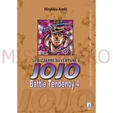 Manga - Le Bizzarre Avventure Di Jojo Battle Tendency 4 - Star Comics