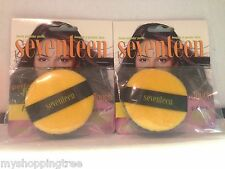 Seventeen Magazine Loose Powder Puff Face Puff LOT OF 2, New & Sealed