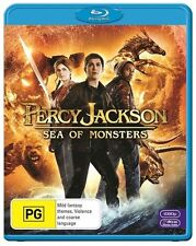 Percy Jackson - Sea Of Monsters (Blu-ray, 2014)EX RENTAL DISC ONLY CAN POST 4 DI