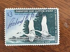 US RW33 1966 Duck Stamp used/signed