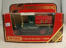 "Matchbox Y3 ☆ 1912-16 Ford Model ""T"" Tanker ""BP"" ☆ 1/43"