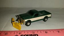 1/64 CUSTOM ERTL farm toy 89 ford f250 vee v snow plow blade pickup truck