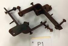 1929 PONTIAC - DASH TO COWL BRACKETS W/ SOME MOUNTING BOLTS - NICE PIECES!