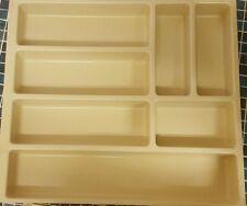 Organizzatore Posate Cucina Beige Cassetto Divisorio Magazzinaggio Vassoio Vano 7 500mm