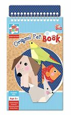 Create Your Own Origami Pets Animal Book Printed Activity Sheets Craft Kit POPB