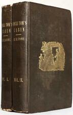 1852 1stED UNCLE TOM'S CABIN OR LIFE AMONG THE LOWLY HARRIET BEECHER STOWE