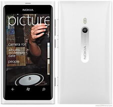 New Nokia Lumia 800 16GB Cyan Unlocked WiFi GSM Smartphone White USA STOCKS