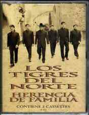Tigres Del Norte DOUBLE CASSETTE TAPE Herencia De Familia* New & Factory Sealed