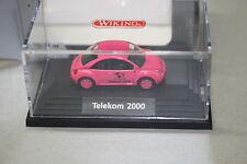 Wiking PMS VW Beetle Telekom 2000 1:87 Spur H0 Vitrine OVP