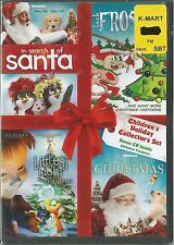 JACK FROST SEARCH OF SANTA  TOYS SAVED CHRISTMAS DVD 4 MOVIES BRAND NEW