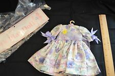 "Madame Alexander Let's Play Dolls by Alice Darling Purple Floral Dress 14"" Doll"