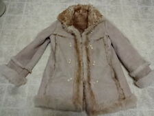 OVERLAND SHEEPSKIN COAT GENUINE SPANISH LAMBSKIN WON 40 NOT MUCH USE SPAIN MADE