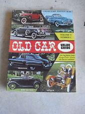 Vintage 1975 Old Car Value Guide Magazine Volume V Number I