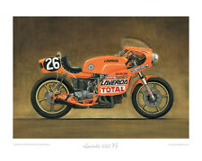 Motorcycle Limited Edition Print - Laverda 1000 V6