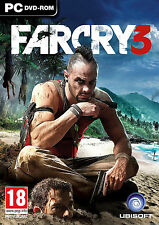 Far Cry 3 FarCry III FC3 (Original PC New Games) English New in Box