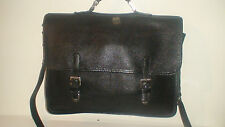 "ROOTS    RAIDER  X-BODY LAPTOP   SATCHEL  BRIEFCASE CIRCA 1980  ""VINTAGE MINT"""