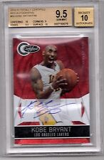 2010 Totally Certified Mirror RED Kobe Bryant AUTO /49  BGS 9.5  Beautiful Card!