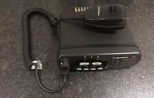 MOTOROLA GM340 136-174MHz VHF c/w MICROPHONE MOBILE TAXI VEHICLE OR BASE RADIO