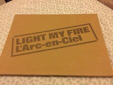 [Limited Edition] L'Arc~en~Ciel Light My Fire Live Photo Posters