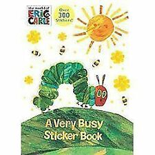 A Very Busy Sticker Book by Golden Books Staff (2012, Paperback)