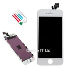 NEW WHITE APPLE IPHONE 5 5G MD657LL/A REPLACEMENT TOUCH SCREEN DISPLAY + TOOLKIT