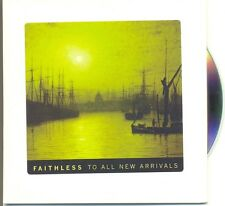 FAITHLESS RARE Australian PROMO To All New Arrivals Advance CD