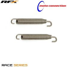 RFX 75MM STAINLESS END SWIVEL EXHAUST SPRINGS for SUZUKI RM125 RM250