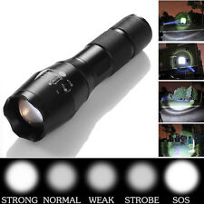 10000LM Zoomable XML T6 LED 18650 Flashlight Focus Torch Zoom Lamp Light US