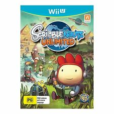 Scribblenauts unlimited pour pal Wii U (new & sealed)