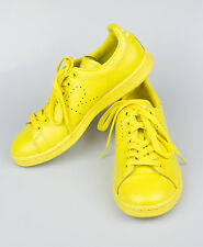 New. ADIDAS RAF SIMONS STAN SMITH Yellow Leather Sneakers Shoes 6.5/39.5 $455