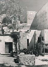 ÎLE DE SANTORIN c. 1950 - Maisons Fira Grèce - DIV 9314