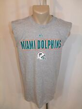 Miami Dolphins Tank, sleevless, Muscle T-Shirt  Large