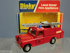 DINKY TOY'S  MODEL No.282 LAND ROVER FIRE APPLIANCE VN MIB