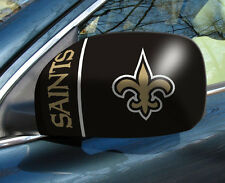 New Orleans Saints Mirror Cover 2 Pack - Small [NEW] NFL Auto Car Truck CDG