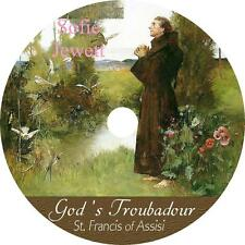 God's Troubadour, St. Francis of Assisi by Sofie Jewett AudioBook on 1 MP3 CD